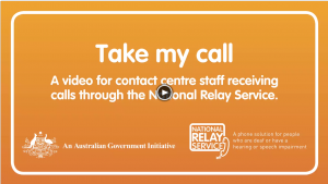 National Relay Service – Take My Call